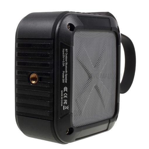 Imagen de Parlante W-KING S7 Negro Bluetooth